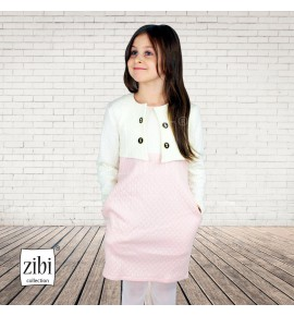 Komplet sukienka z bolerkiem 122-152 - 6 sztuk