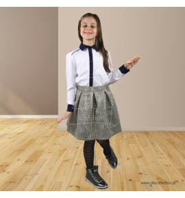 Koszula dziewczęca biała 128-158